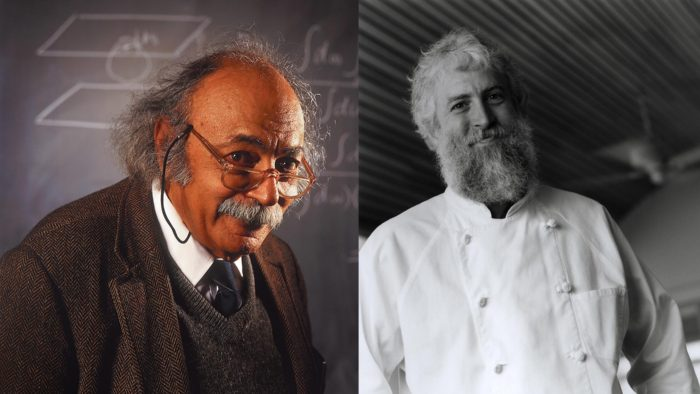 Faces Einstein And Chef