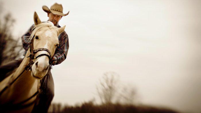Life Marlboro Man Horse Cowboy