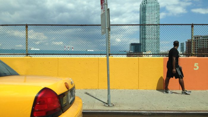 Life New York Yellow Cab Yellow Wall